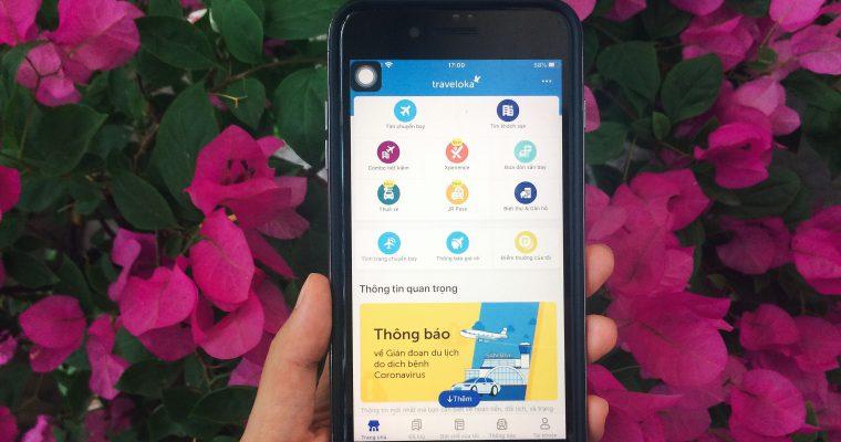 Đặt vé máy bay trên ứng dụng Traveloka – Review